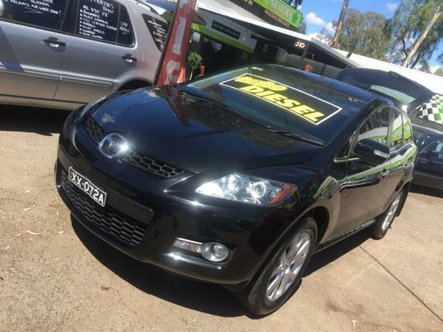 Used Mazda CX-7 Salisbury, 2008 Mazda CX-7 STATION WAGON Black Wagon
