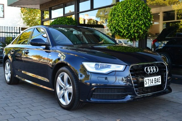Used Audi A6 4G MY14 Multitronic, 2014 Audi A6 4G MY14 Multitronic Grey Metallic 1 Speed Constant Variable Sedan