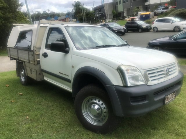 Used Holden Rodeo RA MY05 LT Space Cab, 2005 Holden Rodeo RA MY05 LT Space Cab White 5 Speed Manual Utility