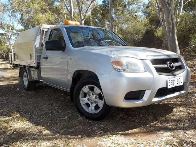 Used Mazda BT-50 UNY0W4 DX, 2009 Mazda BT-50 UNY0W4 DX Silver 5 Speed Manual Cab Chassis