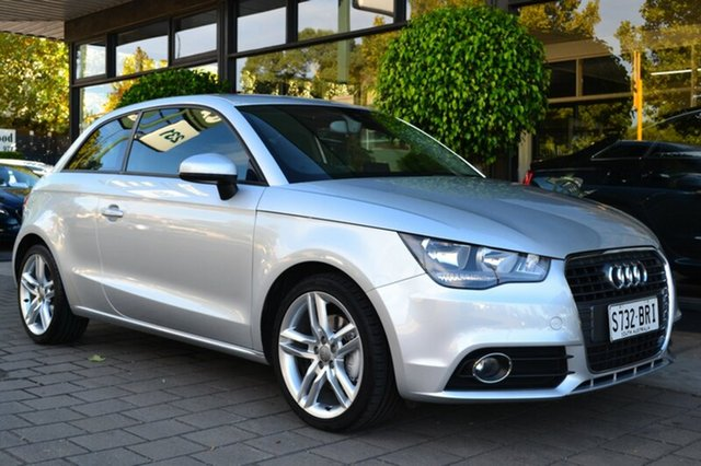 Used Audi A1 8X MY12 Attraction, 2011 Audi A1 8X MY12 Attraction 6 Speed Manual Hatchback