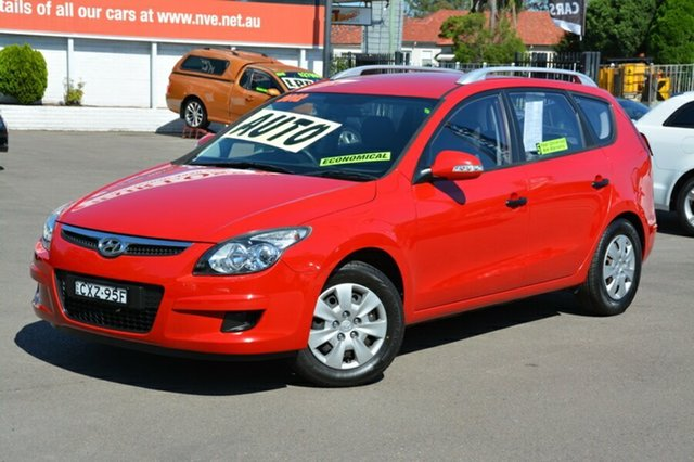 Used Hyundai i30 FD MY11 SX cw Wagon, 2012 Hyundai i30 FD MY11 SX cw Wagon Red 4 Speed Automatic Wagon
