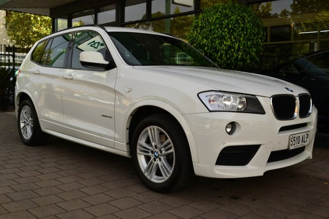 Used BMW X3 F25 MY1011 xDrive20d Steptronic, 2011 BMW X3 F25 MY1011 xDrive20d Steptronic White 8 Speed Automatic Wagon