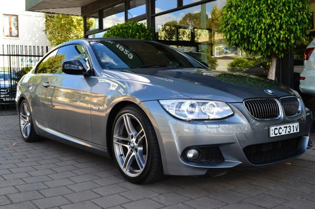 Used BMW 320D E92 MY1112 , 2013 BMW 320D E92 MY1112 Space Grey 6 Speed Manual Coupe