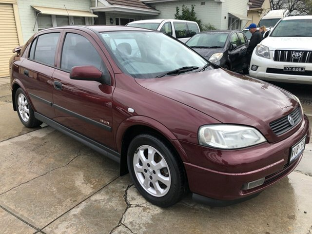 Used Holden Astra TS Equipe City, 2002 Holden Astra TS Equipe City Burgundy 4 Speed Automatic Hatchback