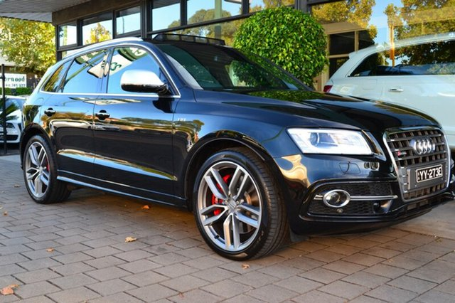 Used Audi SQ5 8R MY16 TDI Tiptronic Quattro, 2015 Audi SQ5 8R MY16 TDI Tiptronic Quattro 8 Speed Sports Automatic Wagon