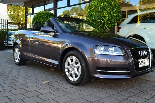 Used Audi A3 8P MY10 TFSI S tronic Attraction, 2010 Audi A3 8P MY10 TFSI S tronic Attraction 7 Speed Sports Automatic Dual Clutch Convertible
