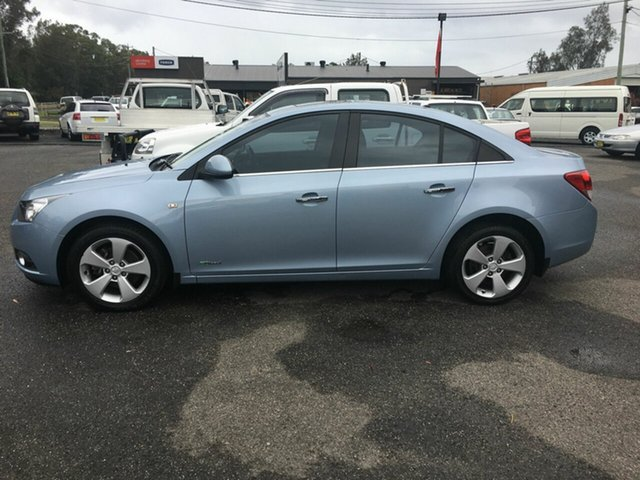 Used Holden Cruze JG , 2010 Holden Cruze JG CDX AUTO 2.0LTR TURBO DI Blue 6 SP Auto Active Select Sedan