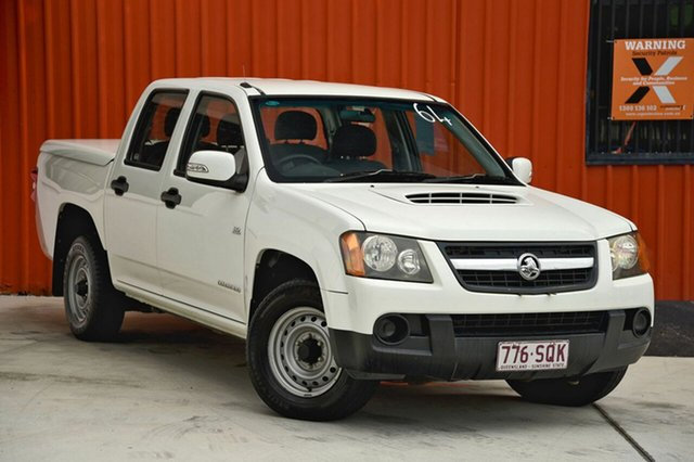 Used Holden Colorado RC MY09 LX Crew Cab, 2009 Holden Colorado RC MY09 LX Crew Cab White 5 Speed Manual Utility