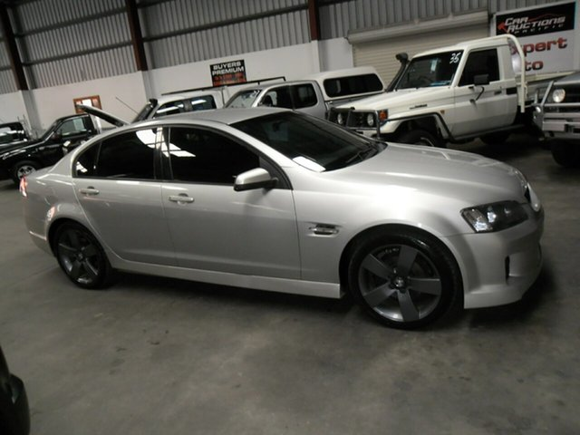 Used Holden Commodore VE SV6, 2007 Holden Commodore VE SV6 Silver 6 Speed Manual Sedan