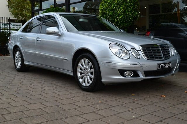 Used Mercedes-Benz E200 Kompressor W211 MY08 Elegance, 2008 Mercedes-Benz E200 Kompressor W211 MY08 Elegance 5 Speed Sports Automatic Sedan