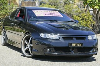2002 Holden Special Vehicles Coupe V2 GTO Black 4 Speed Automatic Coupe.