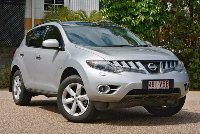 Used Nissan Murano Z51 Series 2 MY10 TI, 2010 Nissan Murano Z51 Series 2 MY10 TI Silver 6 Speed Constant Variable Wagon