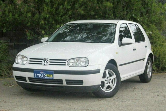 Used Volkswagen Golf 4th Gen Impulse GL, 1999 Volkswagen Golf 4th Gen Impulse GL White 5 Speed Manual Hatchback