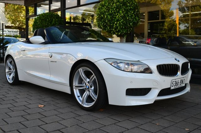 Used BMW Z4 E89 LCI MY0313 sDrive20i, 2013 BMW Z4 E89 LCI MY0313 sDrive20i White 6 Speed Manual Roadster