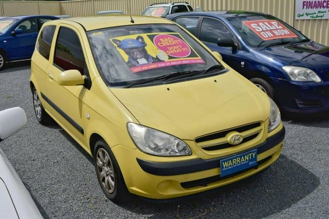Used Hyundai Getz TB MY07 S, 2008 Hyundai Getz TB MY07 S Yellow 5 Speed Manual Hatchback
