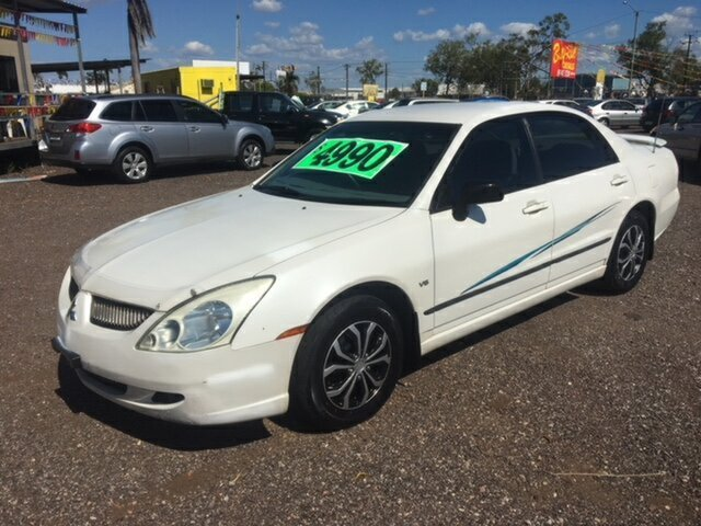 Used Mitsubishi Magna  ES, 2004 Mitsubishi Magna ES White 4 Speed Auto Active Select Sedan
