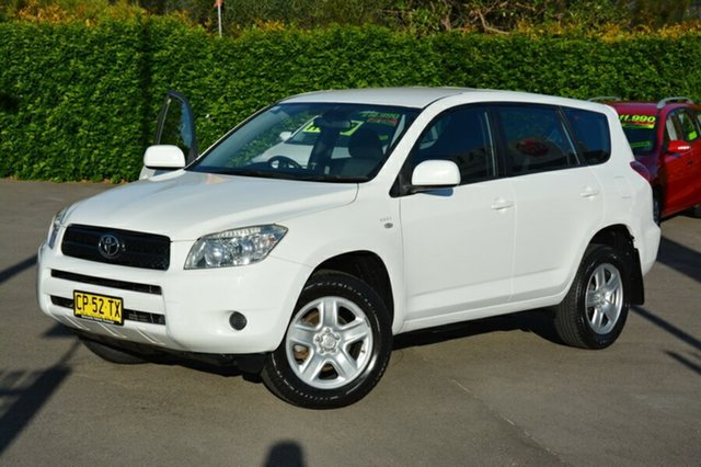 Used Toyota RAV4 ACA33R MY08 CV, 2007 Toyota RAV4 ACA33R MY08 CV White 5 Speed Manual Wagon