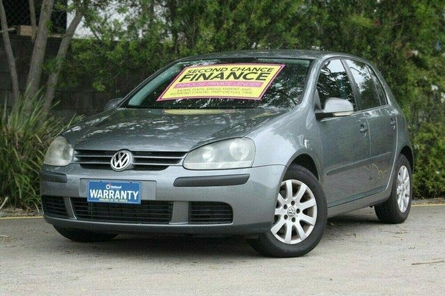 Used Volkswagen Golf V Trendline Tiptronic, 2004 Volkswagen Golf V Trendline Tiptronic Grey 6 Speed Sports Automatic Hatchback