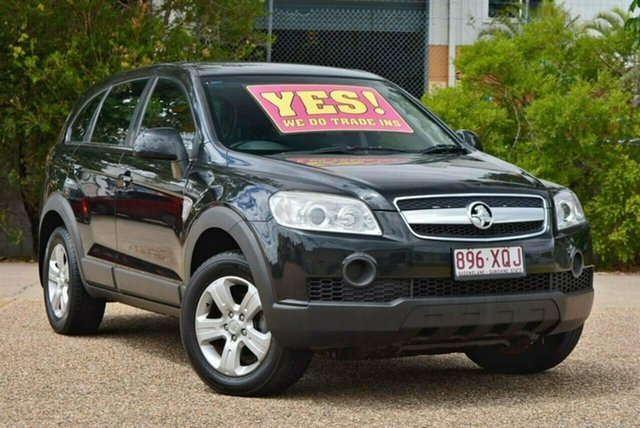 Used Holden Captiva CG MY10 SX AWD, 2009 Holden Captiva CG MY10 SX AWD Black 5 Speed Sports Automatic Wagon