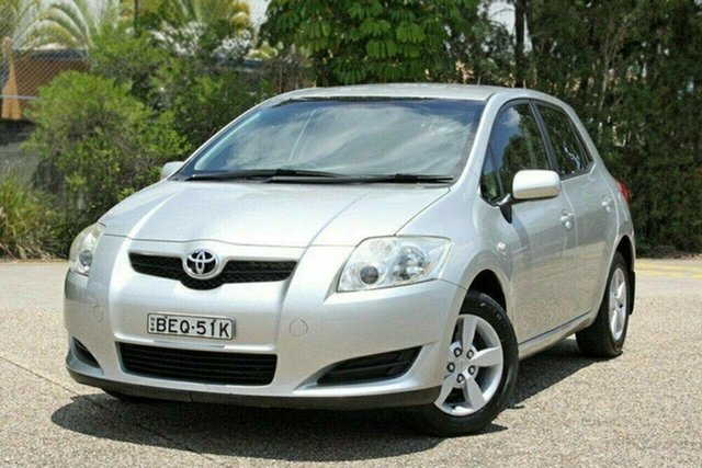 Used Toyota Corolla ZRE152R Ascent, 2007 Toyota Corolla ZRE152R Ascent Silver 6 Speed Manual Hatchback
