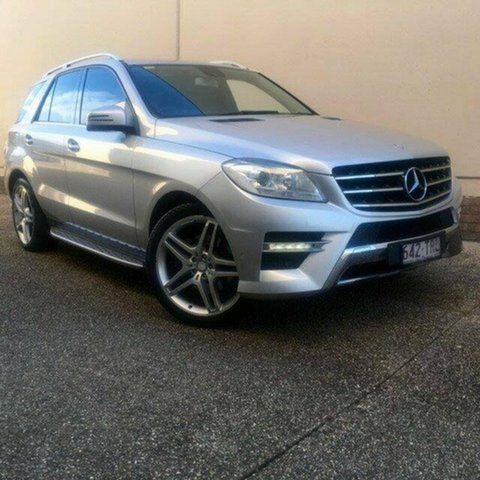 Used Mercedes-Benz ML250 W166 BlueTEC 7G-Tronic +, 2014 Mercedes-Benz ML250 W166 BlueTEC 7G-Tronic + Silver 7 Speed Sports Automatic Wagon