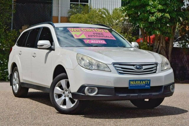 Used Subaru Outback B5A MY11 2.5i Lineartronic AWD, 2011 Subaru Outback B5A MY11 2.5i Lineartronic AWD White 6 Speed Constant Variable Wagon