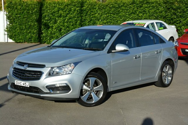 Used Holden Cruze JH Series II MY16 Z-Series, 2016 Holden Cruze JH Series II MY16 Z-Series Silver 5 Speed Manual Sedan