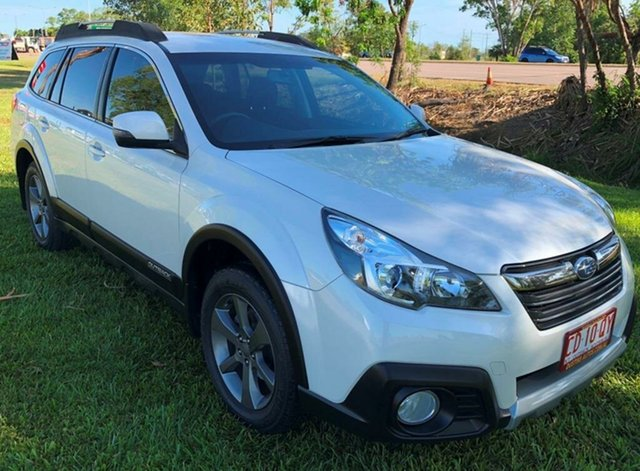 Used Subaru Outback B5A MY14 2.5i Lineartronic AWD, 2014 Subaru Outback B5A MY14 2.5i Lineartronic AWD White 6 Speed Constant Variable Wagon