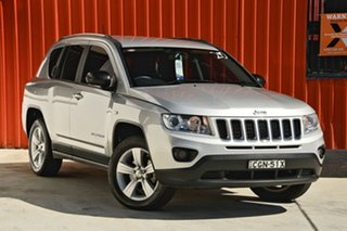 2012 Jeep Compass MK MY12 Sport Silver 5 Speed Manual Wagon.
