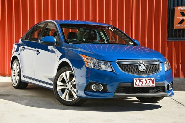 Used Holden Cruze JH Series II MY14 SRi, 2013 Holden Cruze JH Series II MY14 SRi Blue 6 Speed Manual Sedan