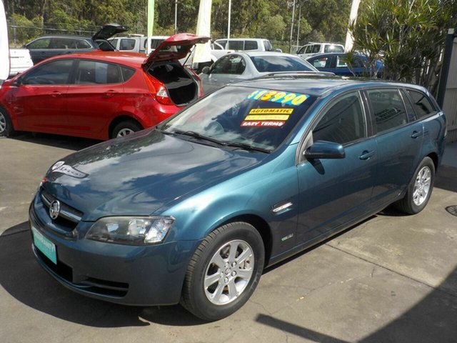 Used Holden Commodore VE MY10 Omega, 2009 Holden Commodore VE MY10 Omega Blue 6 Speed Automatic Sportswagon