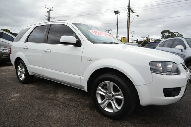 Used Ford Territory  TX, 2010 Ford Territory SY MK2 TX White 4 Speed Auto Active Select Wagon