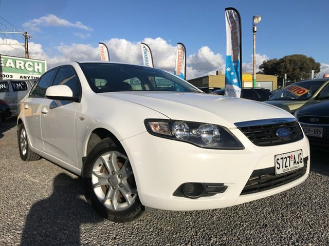 Used Ford Falcon FG XT, 2010 Ford Falcon FG XT White 4 Speed Sports Automatic Sedan