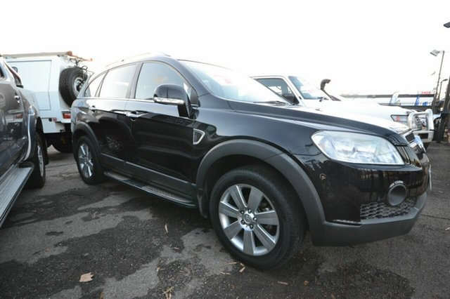 Used Holden Captiva CG LX, 2007 Holden Captiva CG LX Black 5 Speed Sports Automatic Wagon