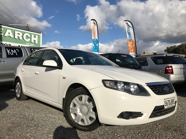 Used Ford Falcon FG XT, 2008 Ford Falcon FG XT White 4 Speed Sports Automatic Sedan