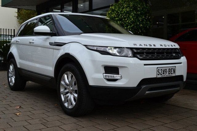 Used Land Rover Range Rover Evoque L538 MY15 SD4 Pure, 2014 Land Rover Range Rover Evoque L538 MY15 SD4 Pure White 9 Speed Sports Automatic Wagon