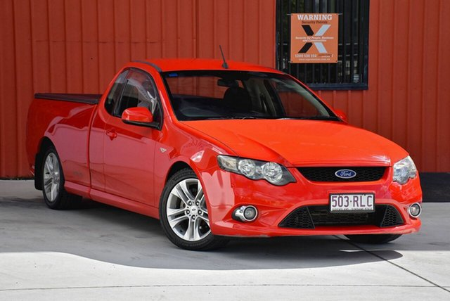 Used Ford Falcon FG XR6 Ute Super Cab, 2011 Ford Falcon FG XR6 Ute Super Cab Red 6 Speed Sports Automatic Utility
