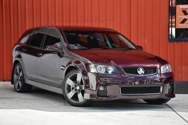 Used Holden Commodore VE II MY12.5 SS V Sportwagon Z Series, 2012 Holden Commodore VE II MY12.5 SS V Sportwagon Z Series Purple 6 Speed Sports Automatic Wagon