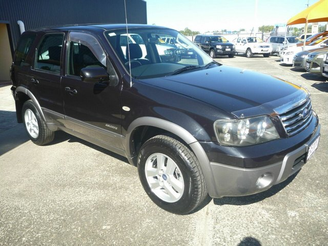 Used Ford Escape ZC XLT, 2007 Ford Escape ZC XLT Black 4 Speed Automatic Wagon