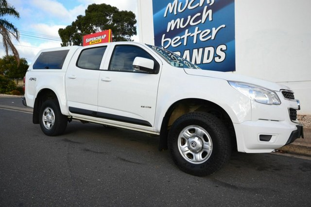 Used Holden Colorado RG LX, 2014 Holden Colorado RG LX White 6 Speed Automatic Dual Cab