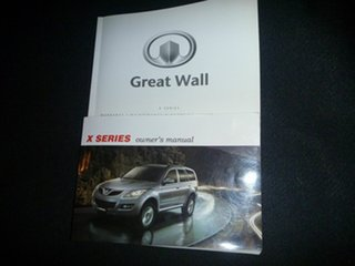 2013 Great Wall X200 K2 MY13 White 5 Speed Automatic Wagon.