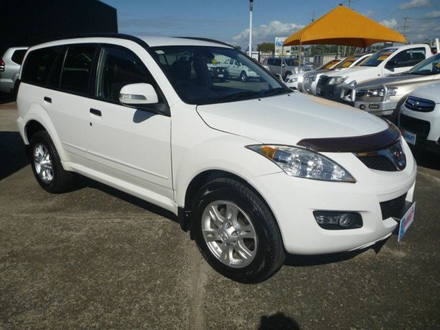 Used Great Wall X200 K2 MY13 , 2013 Great Wall X200 K2 MY13 White 5 Speed Automatic Wagon