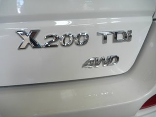 2013 Great Wall X200 K2 MY13 White 5 Speed Automatic Wagon