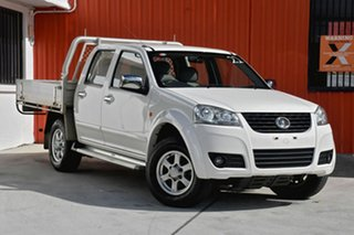 2012 Great Wall V200 K2 MY12 White 6 Speed Manual Utility.