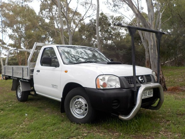 Used Nissan Navara D22 MY2008 DX, 2008 Nissan Navara D22 MY2008 DX White 5 Speed Manual Cab Chassis