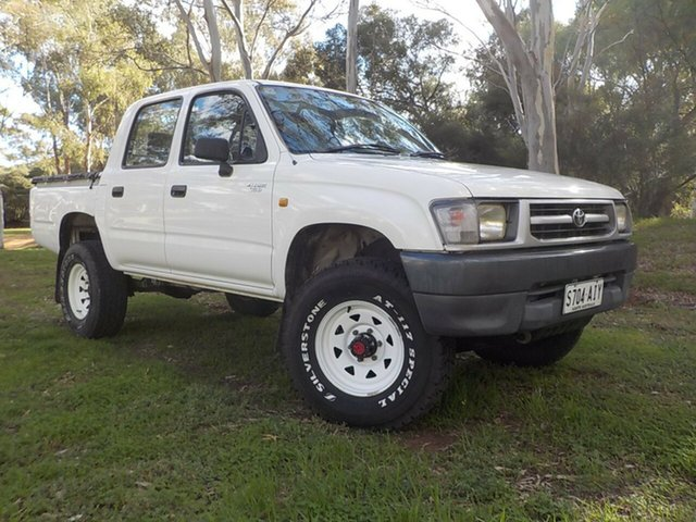 Used Toyota Hilux LN167R , 2001 Toyota Hilux LN167R White 5 Speed Manual Utility