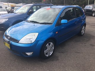 2005 Ford Fiesta WP LX 3 DOOR Blue 5 Speed Manual Hardtop.