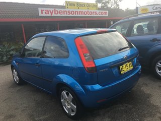 2005 Ford Fiesta WP LX 3 DOOR Blue 5 Speed Manual Hardtop