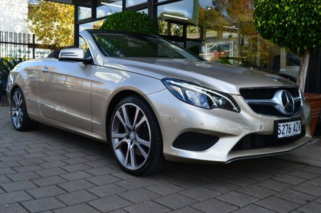 Used Mercedes-Benz E250 A207 MY14 7G-Tronic +, 2014 Mercedes-Benz E250 A207 MY14 7G-Tronic + Beige 7 Speed Sports Automatic Cabriolet